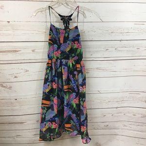 Girls Children's Place Exotic Bird Dress